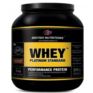 British Nutritions Whey Platinum